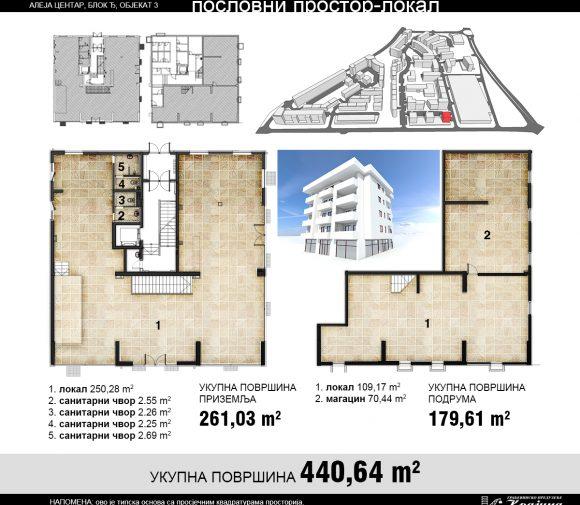 Blok Đ – Objekat 3 – Poslovni prostor 1