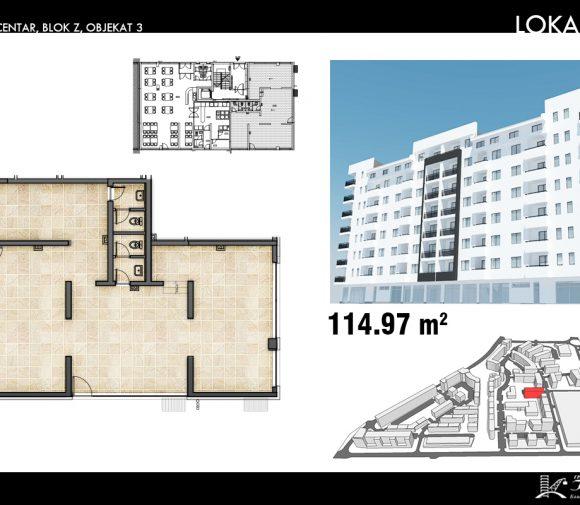 Blok Z – Objekat 3 – Lokal 1