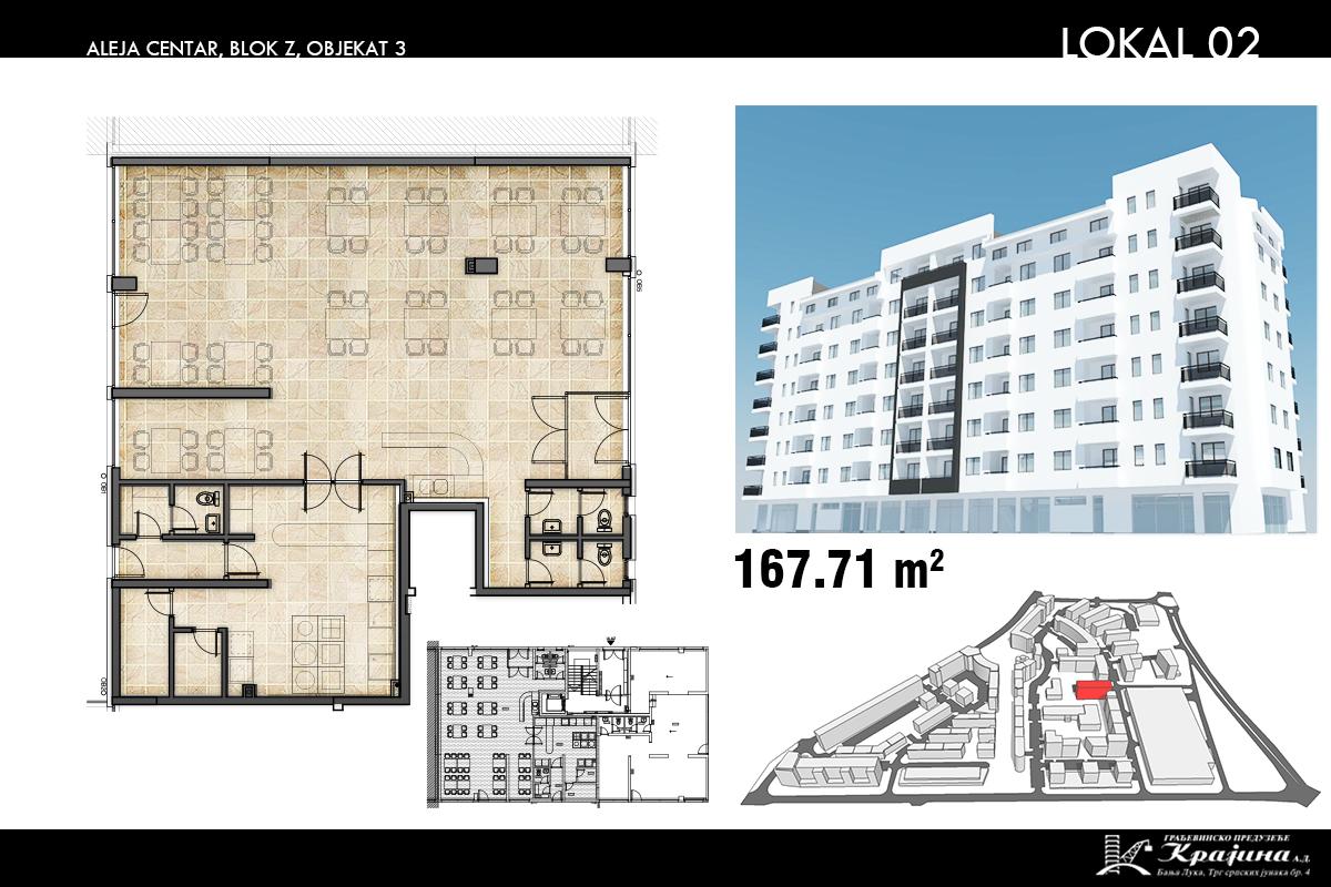 Blok Z – Objekat 3 – Lokal 2