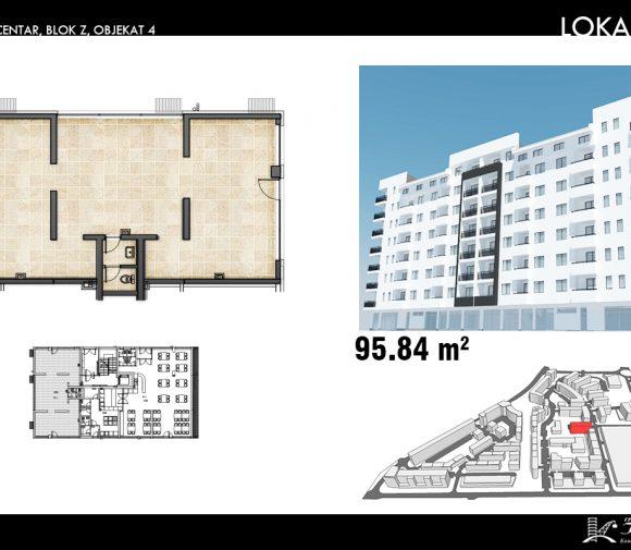 Blok Z – Objekat 4 – Lokal 1