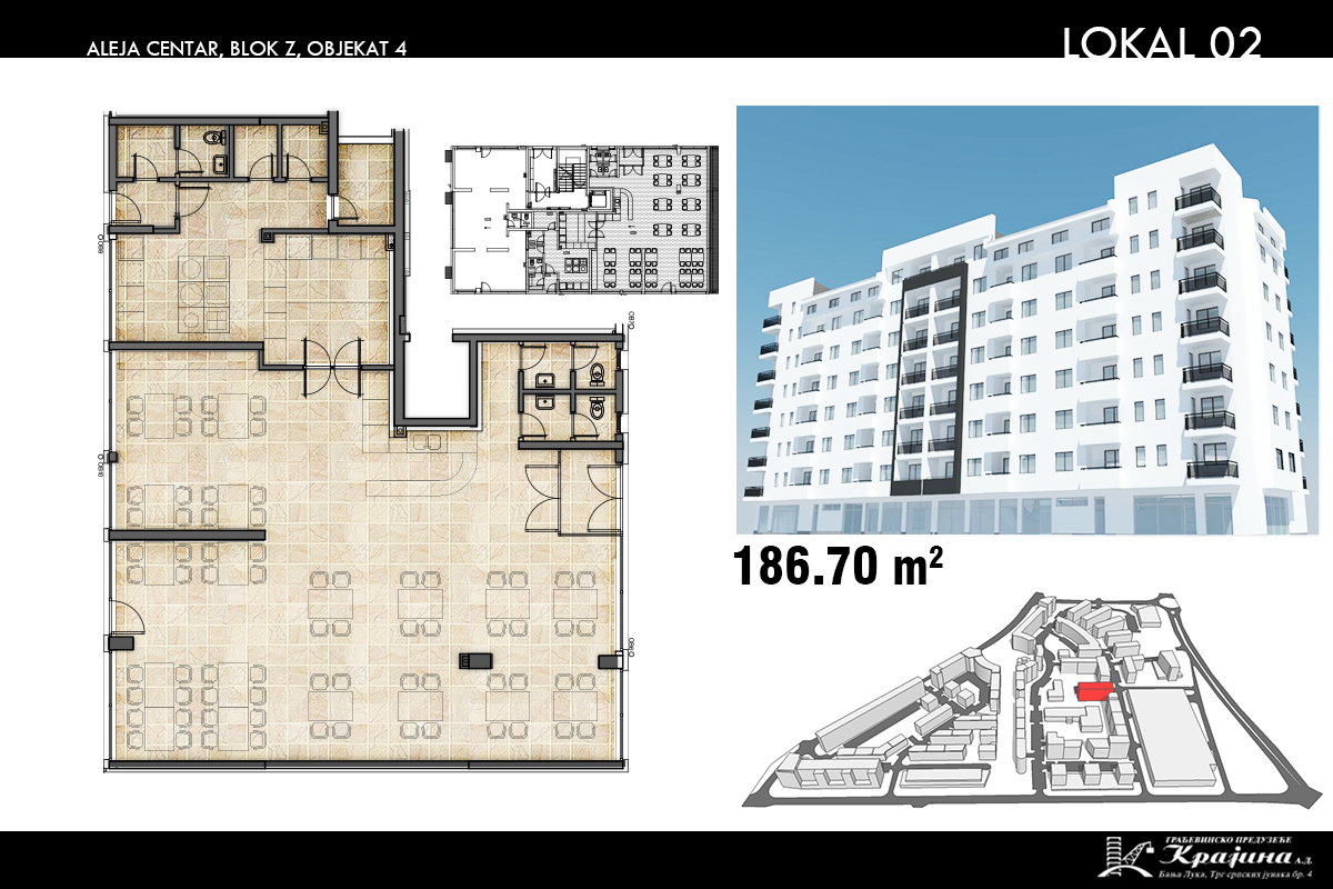 Blok Z – Objekat 4 – Lokal 2